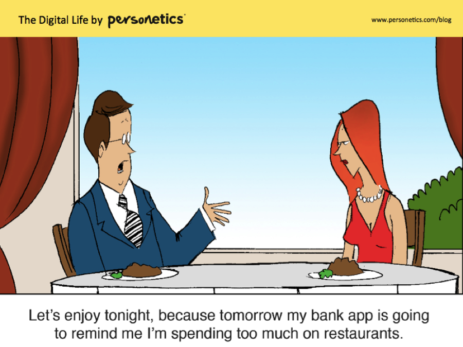 Let's enjoy tonight, because tomorrow my bank app is going to remind me I'm spending too much on restaurants.