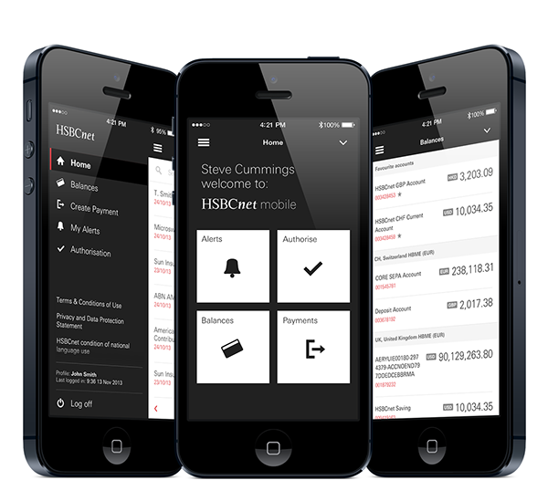 HSBC Data Shows Growth in Corporate Mobile Banking