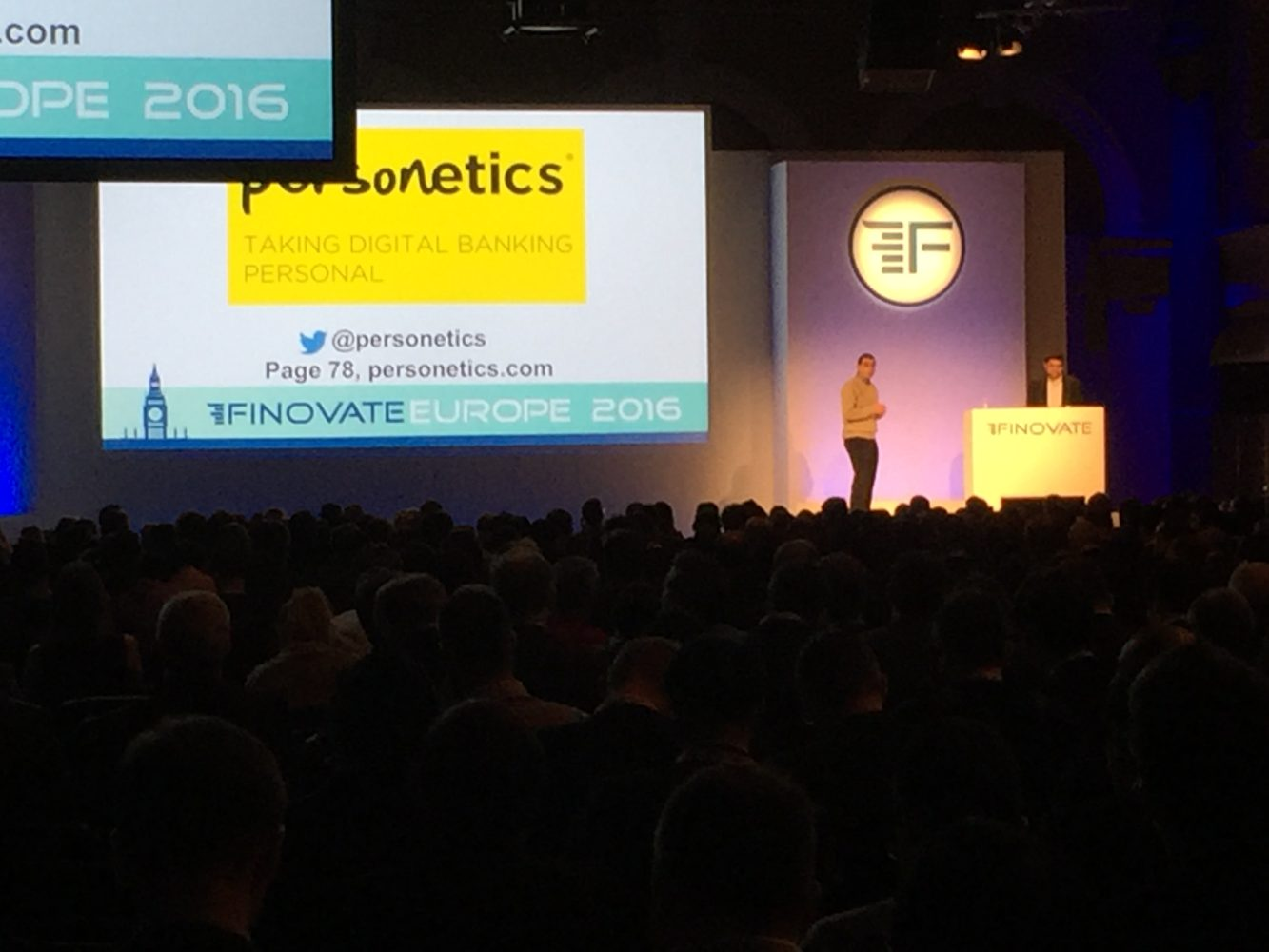 Finovate 2016 On Stage