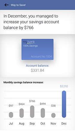 personetics engage savings summary