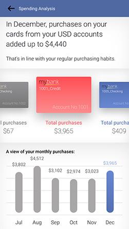 personetics engage spending summary