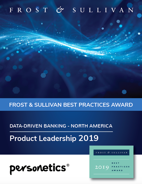 Frost & Sullivan Award 2019 Best Practices Data Driven Banking