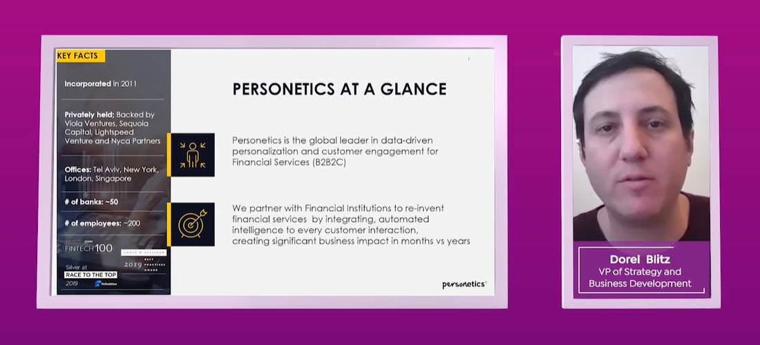 Personetics at a Glance