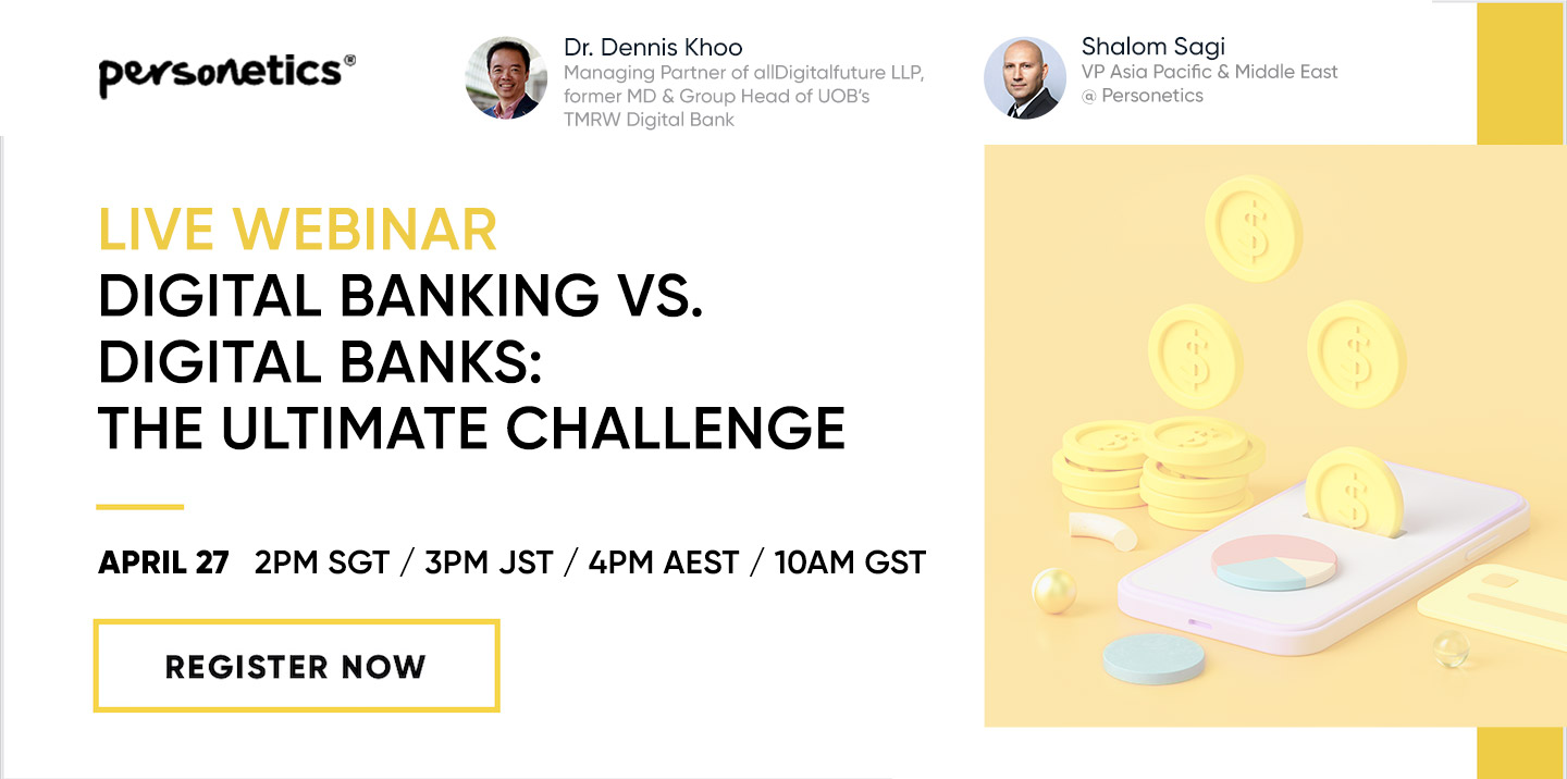 [Webinar Replay] Digital Banking vs. Digital Banks:<br>The Ultimate Challenge