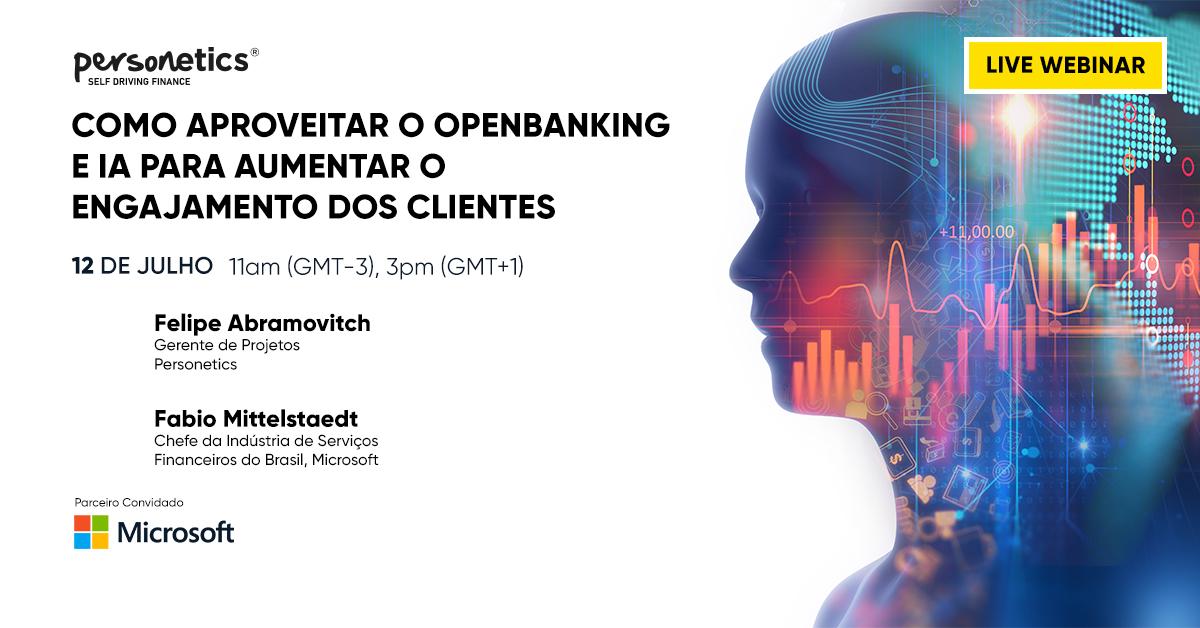 [Webinar Replay] Como aproveitar o OpenBanking e IA para aumentar o engajamento dos clientes (em português)